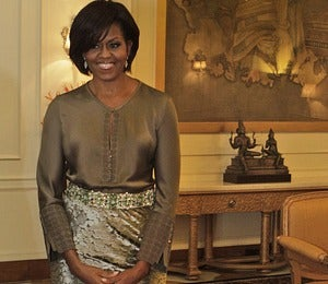 First Lady Style: Michelle Obama in Asia