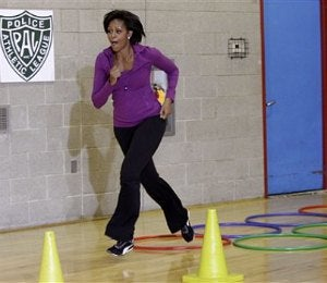 First Lady Brings 'Let's Move' to Newark and Harlem