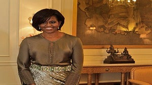 First Lady Diary: Michelle Obama, Stunning in India