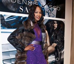Star Gazing: Naomi Campbell for Dennis Basso