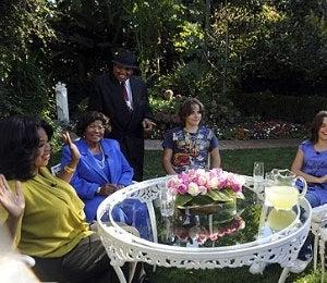 Katherine and Grandkids Remember MJ on 'Oprah'