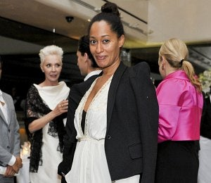 Star Gazing: Tracee Ellis Ross Dines at Mr. Chow