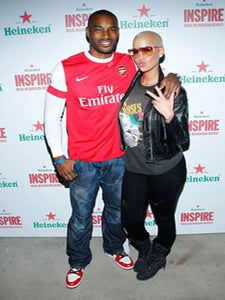 Star Gazing: Tyson and Amber Rose Strike a Pose