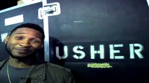 Behind the Scenes of Usher's 'OMG' Tour