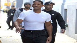 Star Gazing: Will Smith Filming 'Men in Black 3'