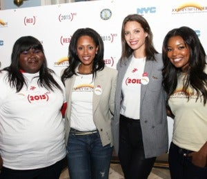 Gabrielle Union and Gabby Sidibe Stand Up for AIDS