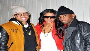 Star Gazing: Ciara Hangs with the Guys at Knicks Game