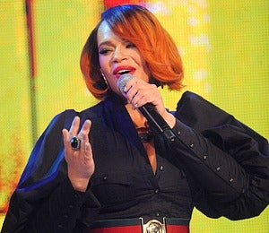 Star Gazing: Faith Evans Performs at '106 and Park'
