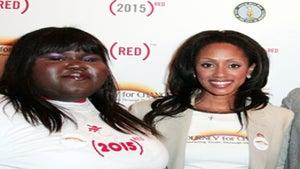 Star Gazing: Gabourey, Malaak, Gabby Smile for a Cure