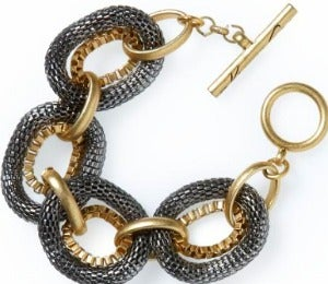 Daily Dose: Two Tone Bracelet by Kenneth Cole