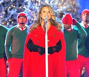 Star Gazing: Mariah Carey Sings at NYC Tree Lighting