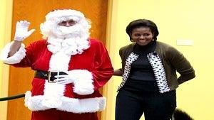Star Gazing: FLOTUS, Bo, Santa at Children's Hospital