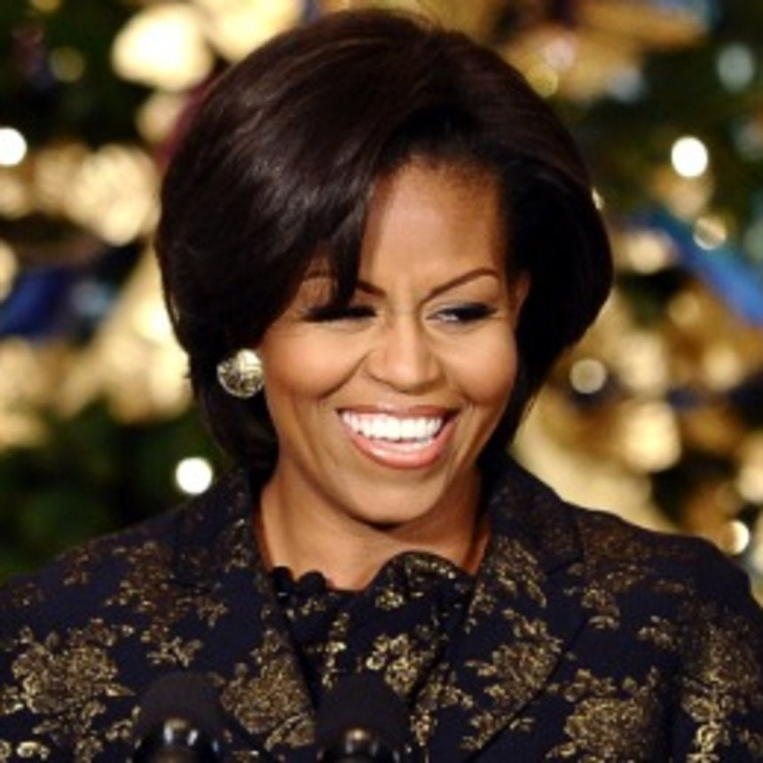 First Lady Decorates White House for Christmas