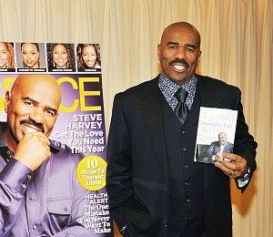 Steve Harvey's 'Straight Talk' Tops NYT Bestsellers List