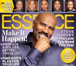 Steve Harvey on the January Cover of ESSENCE