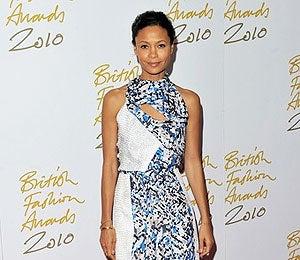 Star Gazing: Thandie Newton at British Fashion Awards