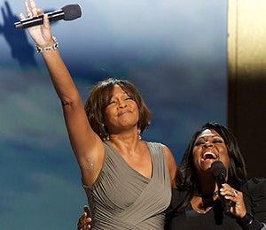 Star Gazing: Whitney and Kim Sing the Gospel