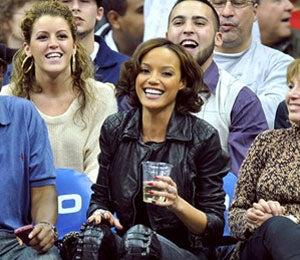 Star Gazing: Selita Ebanks Courtside at Nets Game