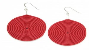 Daily Dose: Woven Sweetgrass Earrings from HUNHO