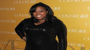 Star Gazing: Amber Riley Shines at Cover Girl Party