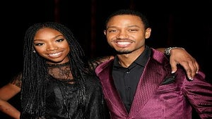 Star Gazing: Brandy, Terrence J. at 'The Game' Premiere