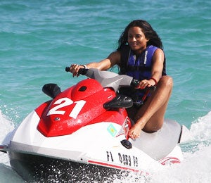 Star Gazing: Ciara Enjoys the Miami Sunshine
