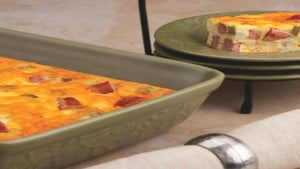 Dine on a Dime: Brunch on a Budget, Crustless Quiche