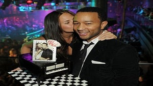 Star Gazing: John Legend Toasts His Birthday in Vegas
