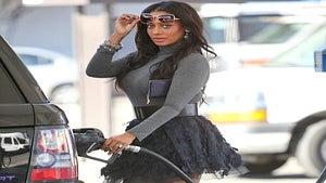 Star Gazing: LaLa Vazquez Stops for Gas