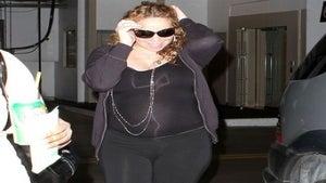Star Gazing: Mariah Carey Shows Off Her Baby Bump