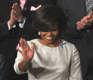 First Lady Wears Rachel Roy to State of the Union