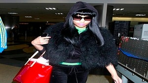 Star Gazing: Nicki Minaj Keeps it Comfy at LAX