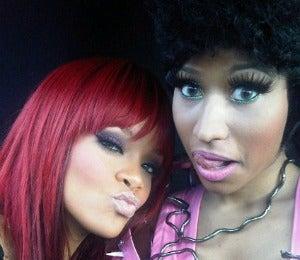 Coffee Talk: Rihanna and Nicki Minaj Shoot 'Fly' Video