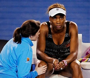 Venus Williams Withdraws from Australian Open