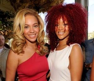 Star Gazing: Beyonce and Rihanna Do Grammy Brunch