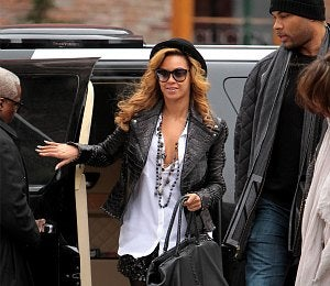 Star Gazing: Beyonce is Winter Hot in NYC