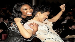 Star Gazing: Brandy and Monica at Pre-Grammy Event