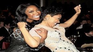 Star Gazing: Brandy and Monica at Pre-Grammy Event