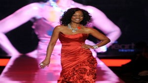 Celebrities Walk in Heart Truth Red Dress Fashion Show