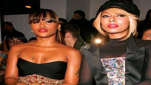 Star Gazing: Keri and Eve Sit Front Row at Fashion Week
