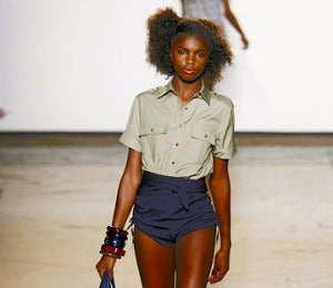 NYFW Fall 2011: Day 2 of Leomie Anderson's Model Diary