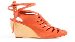 Daily Dose: Vivan Lace-up Wedge by Loeffler Randall