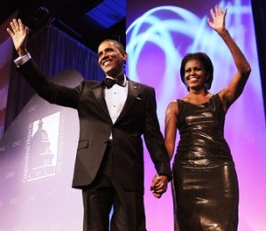 Mrs. Obama Says V-Day Is No Big Deal in White House