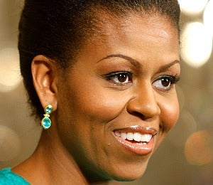 Office Obsession: Michelle Obama's Peach Gloss