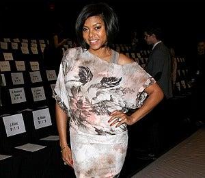 Star Gazing: Taraji P. Henson at BCBG Fall 2011 Show