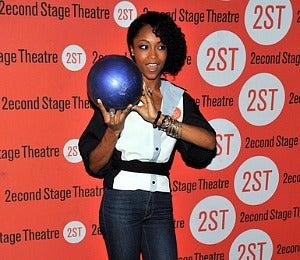 Star Gazing: Yaya Dacosta Bowls for Charity