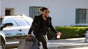 Star Gazing: Zoe Saldana Shops in Beverly Hills