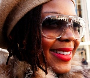 NYFW 2011: Street Style, Red Lips