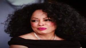 Diana Ross Appears on Oprah Winfrey Show