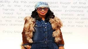 Star Gazing: June Ambrose at Fashion Week